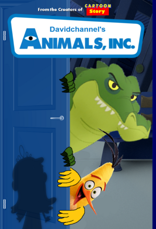 Animals, Inc. (2001) DVD Cover