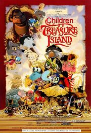 Children Treasure Island Poster