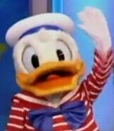 Donald Duck in Wheel of Fortune - Making Disney Memories Week