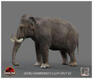 Elephant, Asian (Jurassic Park)