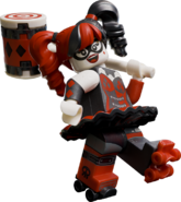 Harley lego batman movie