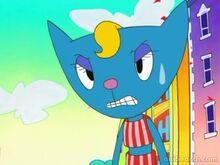Katy Kat Angry