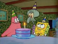 Spongebob and patrick birthday cake 1