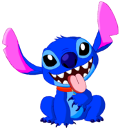 Stitch as Pluto