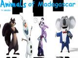 Animals of Madagascar (TV Series) (TheLastDisneyToon and Toonmbia Style)
