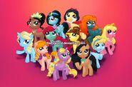 Disney Princess Ponies