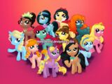 Characters as Ponies