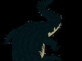 Jacaré the Black Caiman