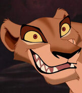 Zira in The Lion King II Simba's Pride