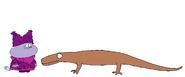 Chowder meets Komodo Dragon