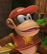 Diddy Kong in Super Smash Bros. Brawl