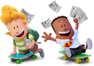 George and harold captain underpants movie