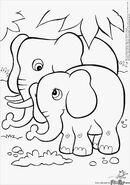 Crayola Coloring Page Elephants