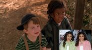 The Junior Fresh Beats - Porky & Buckwheat (from The Little Rascals -1994-) and Ashely & Alissa (from Barney)