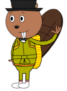 Mr Elroy Oakdale (secret agent) (baby carrier)