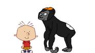 Stanley Griff meets Western Gorilla