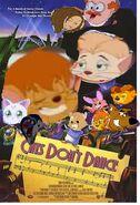 Cats dont dance poster farm