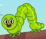 Inchworm in turn and learn