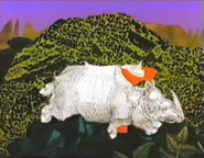 Sesame Street Indian Rhino