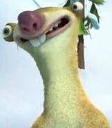 Sid in Ice Age - A Mammoth Christmas