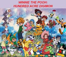Winnie the Pooh - Hundred Acre Digimon poster