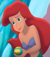 Ariel in The Little Mermaid