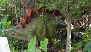 Columbus Zoo Stegosaurus