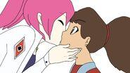 Cynthia kisses Emmy