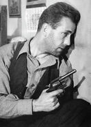 Duke Mantee With Gun The Petrified Forest1936
