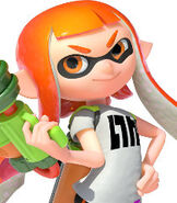 Inkling Girl in Splatoon