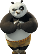 Po from DreamWorks Animation's Kung Fu Panda