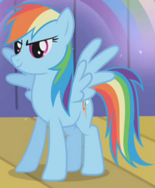 Rainbow Dash's Rainbow S1E06 cropped