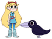 Star meets Jungle Crow