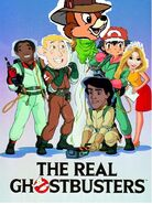 The Real Ghostbusters Poster for TheBluesRockz)