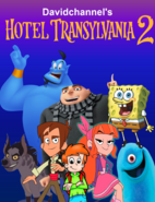 Hotel Transylvania 2 (2015) (Davidchannel's Version) Poster