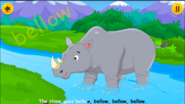 Animal Sounds Song Rhinoceros
