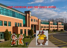 Chip chipmunk and the ghoul school