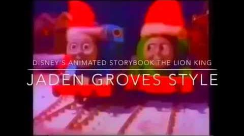 Disney's Animated Storybook The Lion King (Jaden Groves Style)