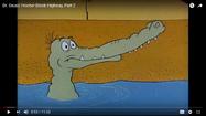 Dr Seuss Crocodile