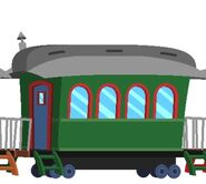 Dumbo Green Coach