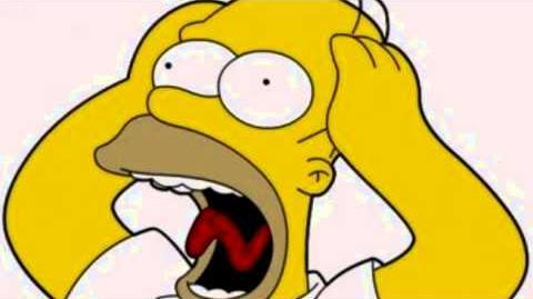 Homer Scream Sound Effects