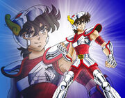 Pegasus Seiya v1 by saintaker