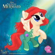 Ponified Ariel