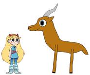 Star meets Lechwe