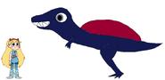 Star meets Spinosaurus