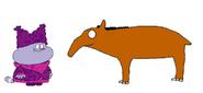 Chowder meets Brazilian Tapir