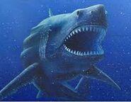 Megalodon creatures