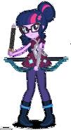 Sci twi twilight sparkle archery by gouhlsrule-d9wtbz6
