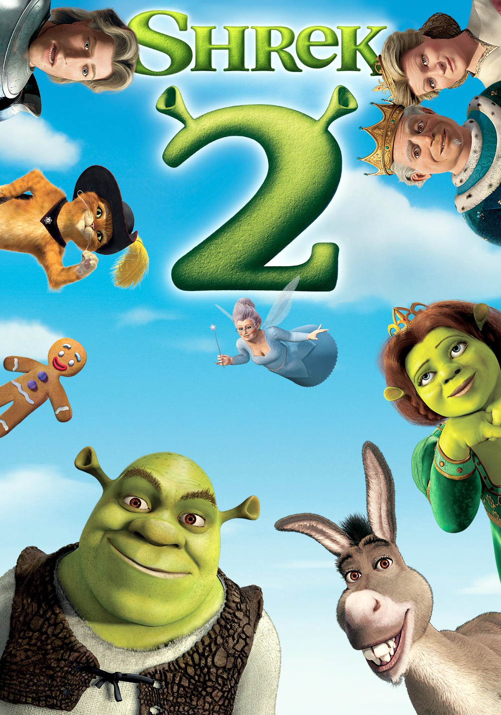 Image result for shrek 2 poster