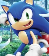 Sonic the Hedgehog in Sonic Colors